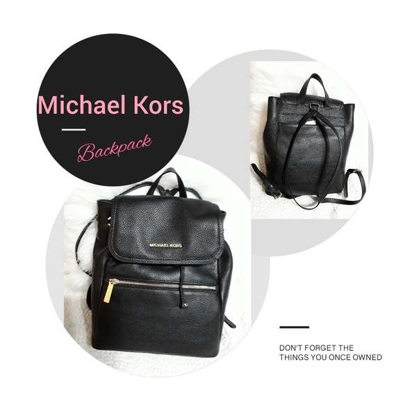 ed2289cdbb97 MICHAEL Michael Kors Bags | Rachel Lg Flap Backpack Nwt | Poshmark